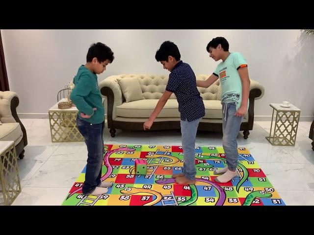لعبة السلم والثعبان