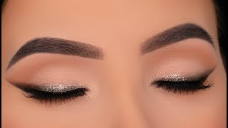 Bridal Inspired Sparkly Winged Liner Tutorial | TATI BEAUTY VOL 1