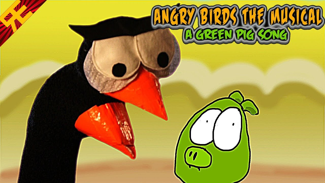 Angry Birds: The Musical! Now With Sock Puppets