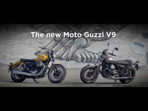 2017 Moto Guzzi V9 Roamer in Goshen, New York - Video 2