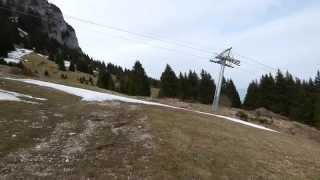 FPV Flying Wings Downhill