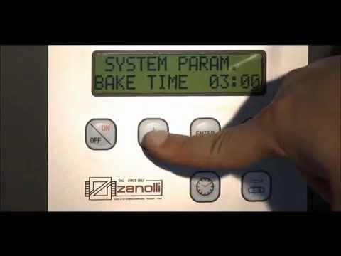 Forno ventilato a tunnel Synthesis - Zanolli