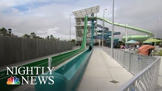 Boy Thrown From Water Slide At California Water Park | NBC Nightly News