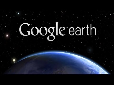 Установка, настройка Google Earth, Планета земля. Карта Луны,Земли, Космоса