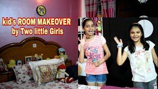 #ROOMTOUR/ORGANISATION |KIDS ROOM MAKEOVER | Kids/ Girls Room Organisation #Diwalicleaning/Decor