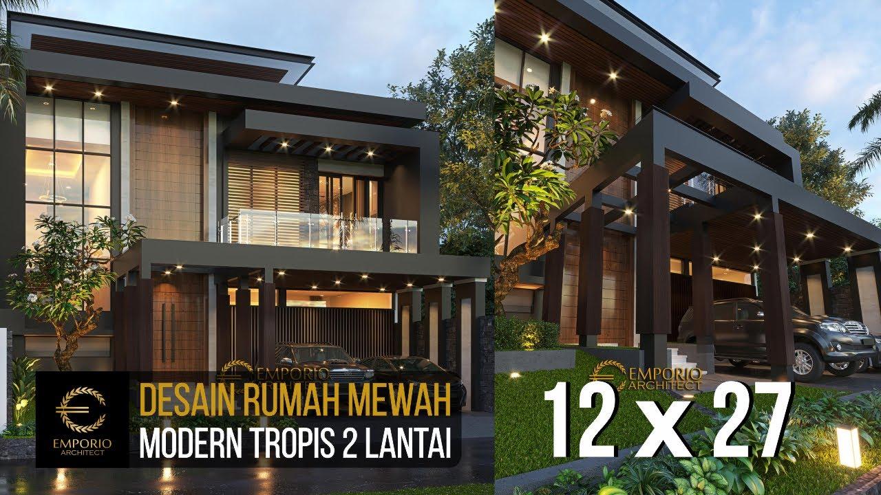 Video 3D Mrs. Wita Modern House 2 Floors Design - Jakarta Barat