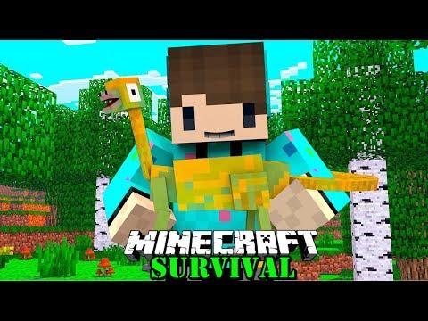 KITA MENGHIDUPKAN DINOSAURUS PALING UNIK SUARANYA MIRIP TEROMPET ! Minecraft Survival #88