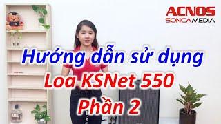 Dàn Âm Thanh Di Động ACNOS KSNET550 (BLack Color)