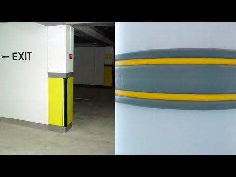 Резиновые отбойники для парковок youtube