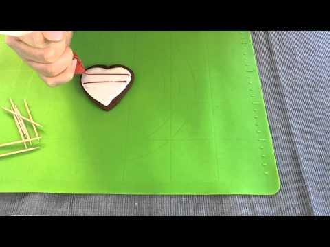 Μπισκότα - καρδιές για τον Αγ. Βαλεντίνο