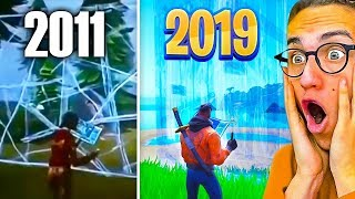 THE EVOLUTION OF FORTNITE! 2011 - 2019