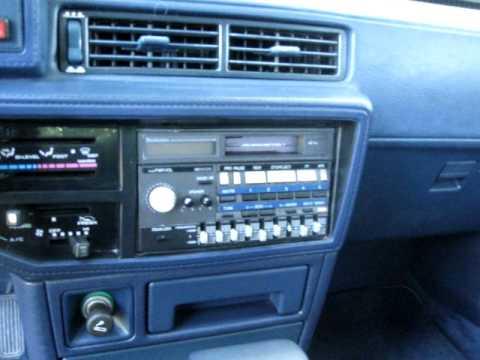 1986 Toyota Camry LE 5 Door Liftback Power Mode