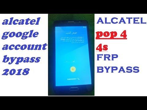 Bypass Google Account Alcatel Alcatel FRP bypass 6 0 1/7 0