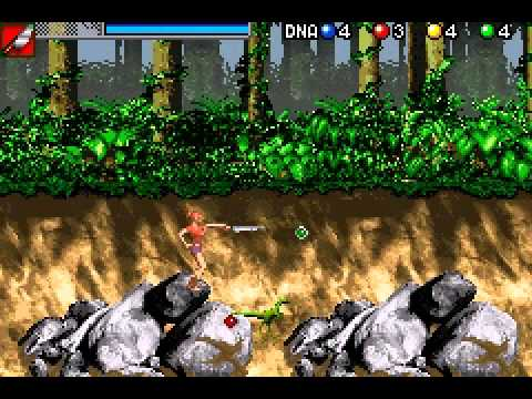 Jurassic Park III - The DNA Factor (U)(Mode7) ROM < GBA ROMs