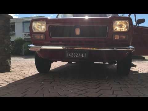 Fiat 127 - Test Scheinwerfer und Blinker