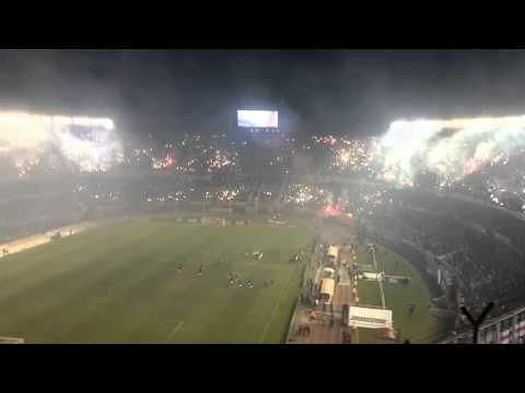 """""""recibimiento de river plate"""" Barra: Los Borrachos del Tablón • Club: River Plate"""