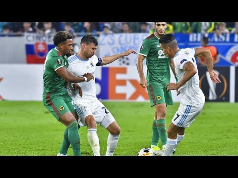 ZOSTRIH   ŠK Slovan Bratislava - Wolverhampton Wanderers FC 1:2