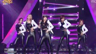 Dal Shabet - B.B.B(Big Baby Baby), 달샤벳 - 비비비, Music Core 20140201