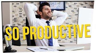Entrepreneur Gives Productivity Advice ft. Boze & DavidSoComedy