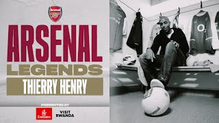 Full Documentary | Thierry Henry | Arsenal Legends