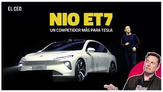 Un competidor más para Tesla, NIO ET7