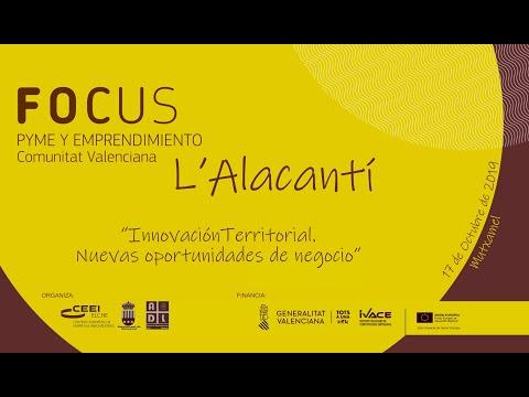 Vídeo Promocional Focus Pyme y Emprendimiento L'Alacantí 2019