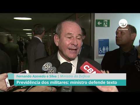 Previdência dos militares: ministro defende texto - 09/09/19