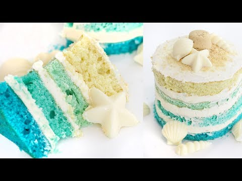 Video How to Make a Summer Beach Cake | RECIPE