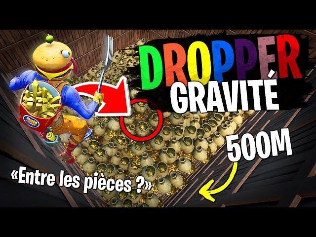 Low gravity dropper