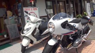 YOSHIMURAサウンドを聞いてね 2017 BMW R NineT 2017 BMW R Nine T Racer カフェレーサー BMW Motorrad Japan