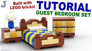 Tutorial - LEGO Guest Bedroom Set How To