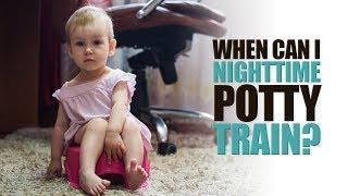When Should I Nighttime Potty Train?