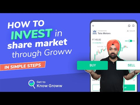 How to Invest in share market for Beginners - Buy & Sell Shares on Groww | Groww app kaise use kare