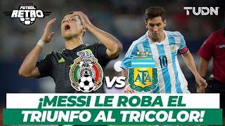 Futbol Retro: ¡De antología! ¡Messi salva el empate! | México 2 - 2 Argentina | Amistoso 2015 | TUDN