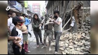Gempa Bumi Di Nepal Angka Kematian Hampiri 1400 Orang