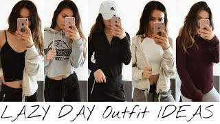 LAZY DAY Outfit Ideas For School | Julie Trang Truong