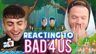 REACTING TO 'BAD 4 US'