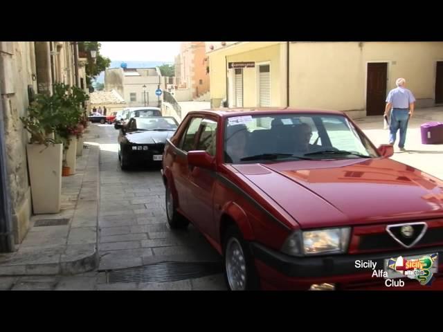 25° raduno Alfa Romeo Ragusa Ibla