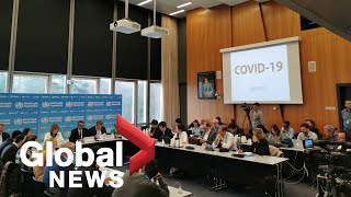 Coronavirus outbreak: World Health Organization provides update amid uptick in cases | LIVE