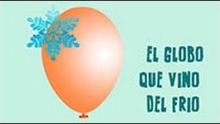 El globo que se infla con el frío. Experimento para niños