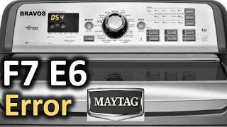 daewoo washing machine error code e6 - Thủ thuật máy tính