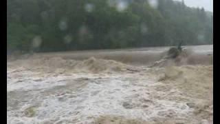 preview picture of video 'Żywiec - powódź'