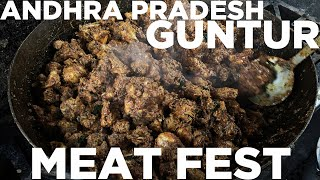 A festival of Chicken and Mutton in True Andhra style