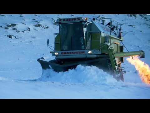 The Snowbine Harvester part 2 | Top Gear | BBC