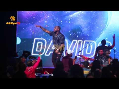DAVIDO'S PERFORMANCE AT RHYTHM UNPLUGGED 2017