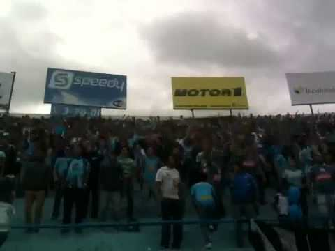 """Vamos celeste ultras macara"" Barra: Los Ultras • Club: Macará"