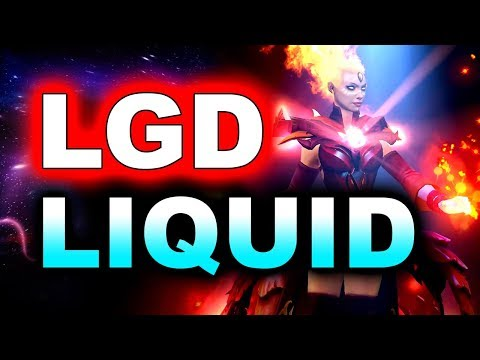 LIQUID vs LGD - WORLD CLASS DOTA!!! - MDL DISNEYLAND PARIS MAJOR DOTA 2