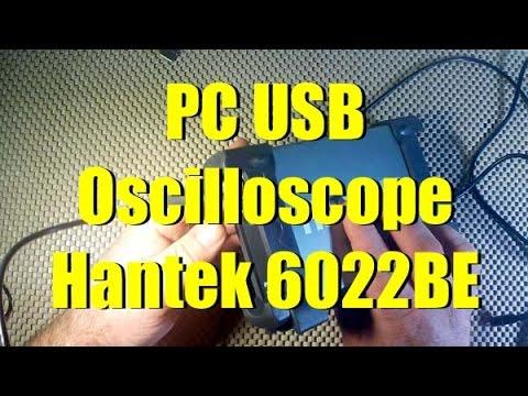 Hantek 6022BE, digitális, USB-s Oszcilloszkóp - Aukció - Vatera.hu Kép