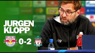 Difficult Goal Says More About Salah Than Any Other Goal He Scored | Klopp | Salzburg 0-2 Liverpool