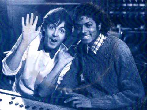Michael Jackson Ft Paul Mccartney The Girl Is Mine With Lyrics